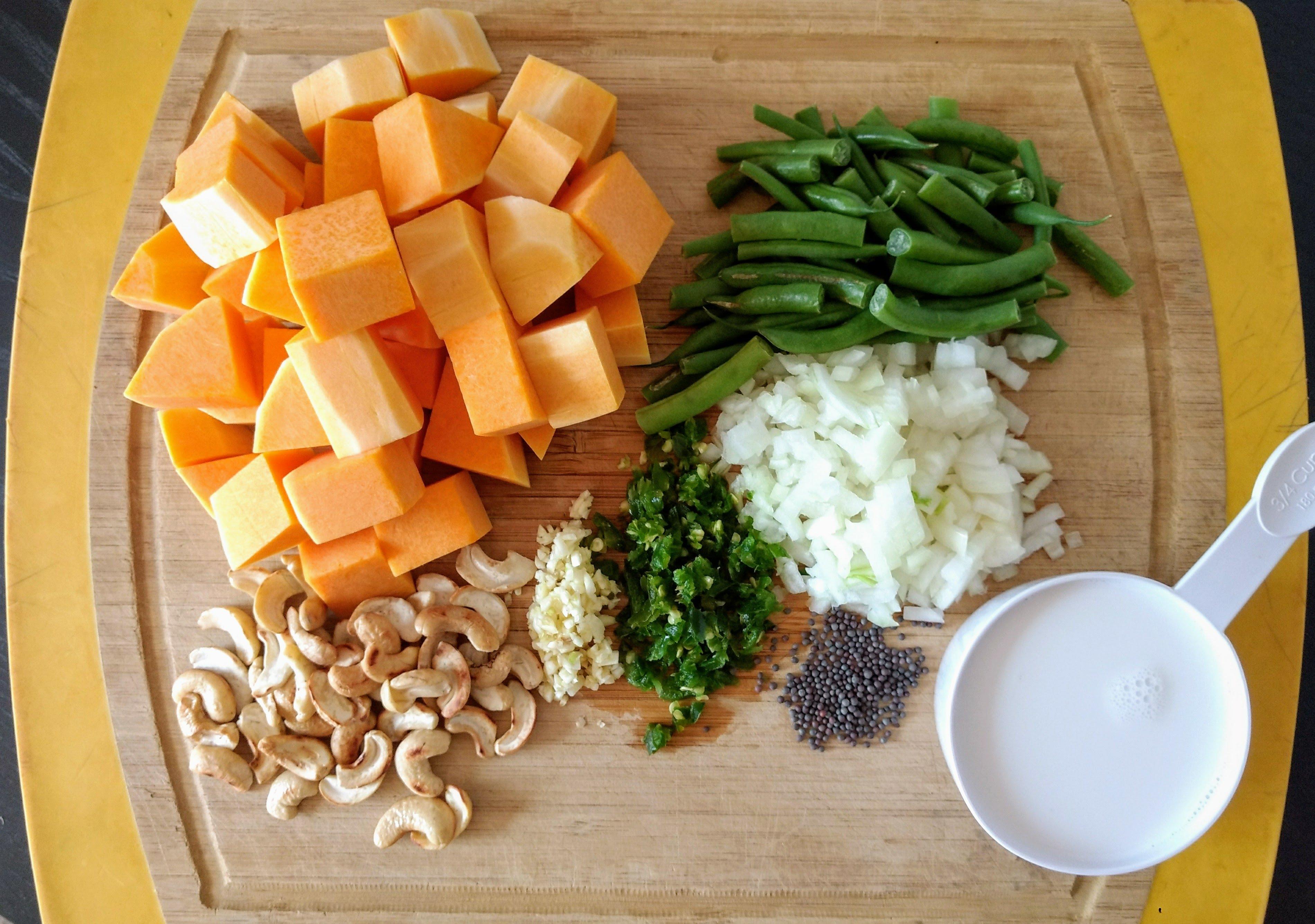 Vegan Butternut Squash Curry
